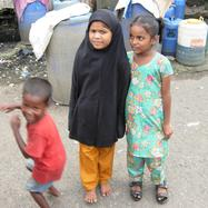 Children from the slums